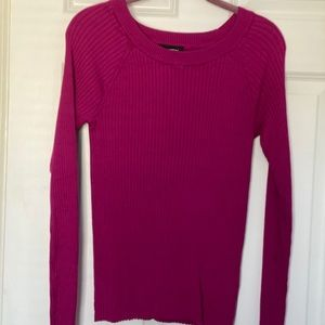 Express Ribbed Sweater NWOT